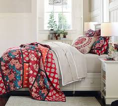 Patchwork Duvet Covers Lola Patchwork Quilt And Sham Pottery Barn