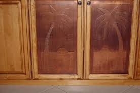 copper inserts for kitchen cabinets kitchen