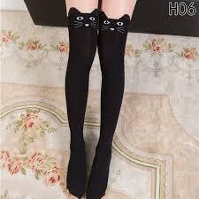 cute stockings new women cute 3d cartoon animal pattern thigh stockings over knee