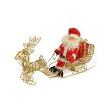 Christmas Decorations Santa Sleigh And Reindeer by Cheap Santa Sleigh Decoration Find Santa Sleigh Decoration Deals