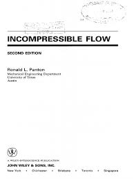 incompressible flow pdf fluid dynamics boundary layer
