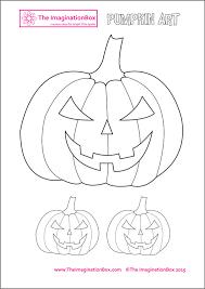 the imaginationbox halloween pumpkin template free to download