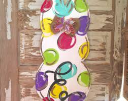 Easter Decorations Door by Easter Wreath Easter Door Hanger Easter Decorations