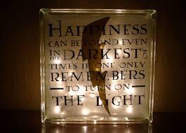 harry potter night light harry potter albus dumbledore happiness quote nightlight small