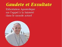 si e apostolique gaudete et exsultate exhortation apostolique sur l appel à la
