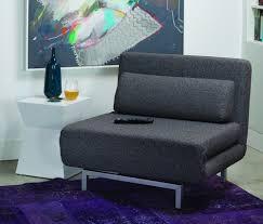 iso swivel sleeper chair bed brown tweed buy klik klaks futons