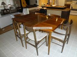 retro style dining table home furniture ideas
