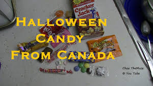 halloween candy bowl shop canadian halloween candy sample trick or treating loot youtube