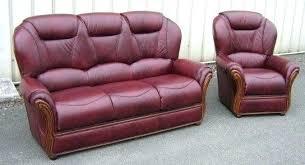 canapé et fauteuil en cuir fauteuil simili cuir canape cuir et fauteuil tissu salons nos salon
