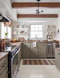 country kitchen cabinet color ideas 9 essential tips for choosing the coziest farmhouse kitchen