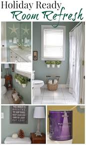 holiday ready room refresh behr marquee paint room and powder room