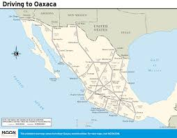Southern Mexico Map by Printable Travel Maps Of Oaxaca Mexico Moon Guides