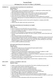 maintenance technician resume building maintenance technician resume sles velvet