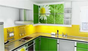 Backsplash For Yellow Kitchen Backsplash Ideas For Black Countertops And White Cabinets Desjar