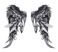 webmelasa angel wings tattoos designs