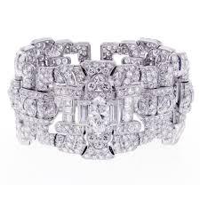important art deco cartier diamond bracelet