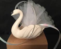 eclectic svan ring holder images Swan candy dish etsy jpg