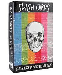 amazon com slash cards the horror movie trivia game toys u0026 games