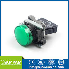 12 volt push button light switch huawu xb4bv63 green 12 volt metal led indicator lights customize 12v