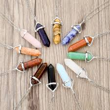 natural gemstone necklace images Natural gemstone long necklaces atperrys jpg