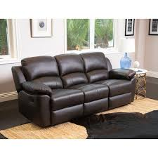 Westwood Comfort Furniture Abbyson Westwood Leather 3 Piece Living Room Reclining Set Free