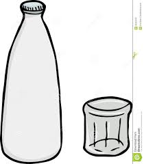 margarita glass cartoon glass milk bottle clipart 30