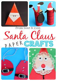 santa claus christmas crafts