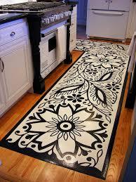 decorative floor mats home floor mats painted on the backside of vinyl flooring holy cow i u0027m