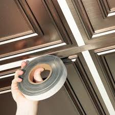 Suspended Ceiling Grid Covers by Ceilume 1 In Wide X 100 Ft Long Roll Deco Tape Faux Tin Self