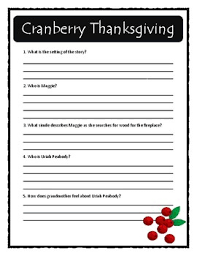 thanksgiving by wende and harry devlin comprehension text evidence