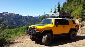 Baja Rack Fj Cruiser Ladder by Install And First Trip With Tepui Tents Autana Toyota Fj Cruiser