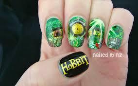 nailed it nz the hobbit nail art the shire