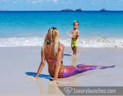 fun for the kids as mermaids and submarines come at the luxurious