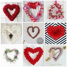 valentines wreaths wreaths to make 30 diy wreath crafts for s day