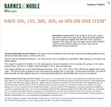Barnes And Noble Coupns And Noble Coupon Code July 2015