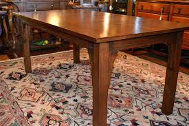 Arts And Crafts Dining Room Furniture Arts And Crafts Dining Table Cottage Oak Canada With Leaf