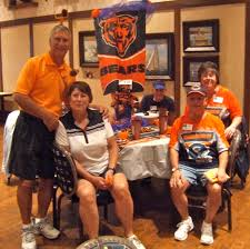 chicago bears fan site chicago bears fans gathered at the event villages news com