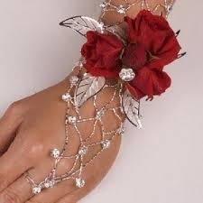 corsage bracelet rhinestone arm corsage bracelet polyvore