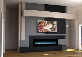 Modern Media Room Ideas - modern media wall design trending choice dagr design