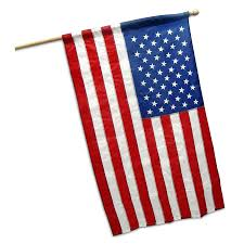 Decorative Holiday Flags Us Banner Flag 2 5ft X 4ft Nylon By Valley Forge
