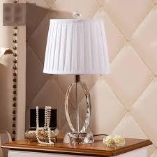 schreibtisch im schlafzimmer moderne tuch lenschirm tischleuchte kristall schreibtisch licht