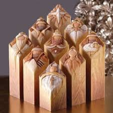 nativity sets pillars of heaven nativity set 9 pieces 4013230 christianbook