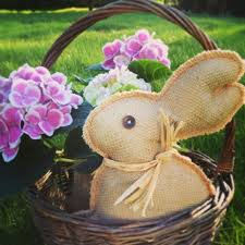 Diy Burlap Easter Decorations by 325 Best Crafts With Burlap Images On Pinterest Christmas Crafts