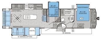 rv bunkhouse floor plans kitchen fifth wheel bunkhouse floor plans heartland rv front new