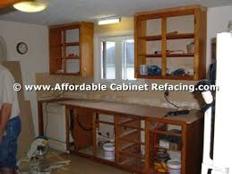 Bathroom Cabinet Refacing Before And After by Reface Cabinets Before U0026 After Photos Affordable Refacing Cabinets