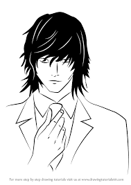 learn how to draw teru mikami from death note death note step by
