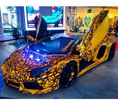 blue lamborghini png art basel 2014 best local artist and best miami exotic car rental
