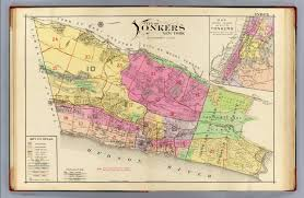 Old Map New York City by Index Map Yonkers Atlas David Rumsey Historical Map Collection