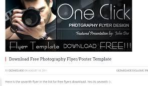 6 free promotional flyer templates af templates