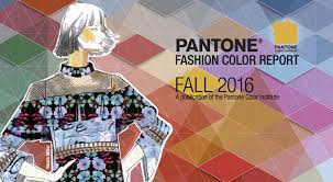Color by Fall 2016 Pantone Fashion Color Report
